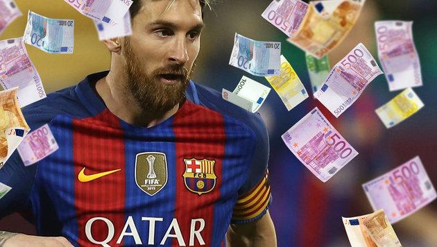 Mega-Angebot aus China: 500 Mio. Euro für Messi! (Bild: thinkstockphotos.de, GEPA)