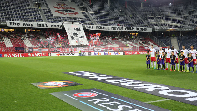 Am Tiefpunkt! RB Salzburg laufen die Zuschauer weg (Bild: GEPA)