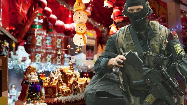 Bub (12) wollte Nagelbombe auf Adventmarkt zünden (Bild: APA/dpa/Franziska Kraufmann, thinkstockphotos.de (Symbolbild))