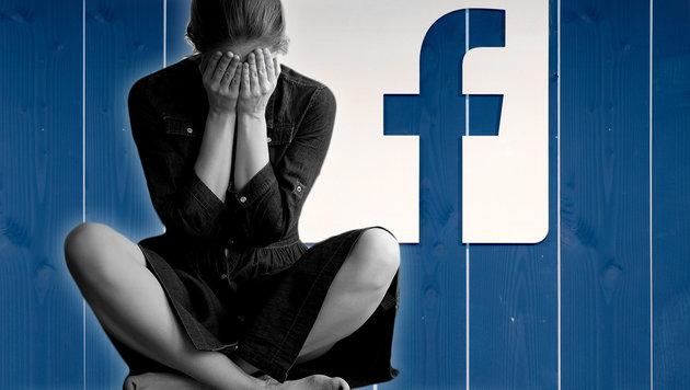 Facebook-Postings sind Gefahr für unsere Psyche (Bild: APA/dpa/Daniel Reinhardt, facebook.com)