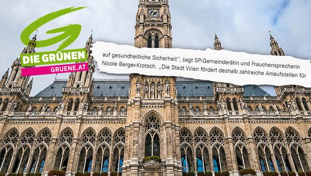 "Fauxpas: Grüne lassen ""Frauchen"" sprechen (Bild: Die Grünen, thinkstockphotos.de)"