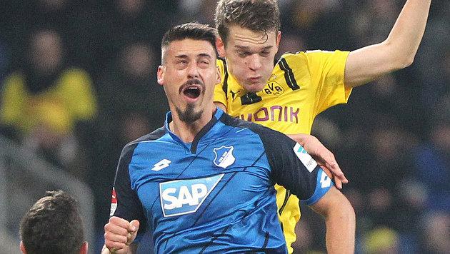 Hoffenheim verliert auch gegen Dortmund NICHT (Bild: AFP)