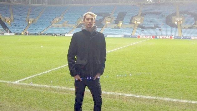 Constantin Reiner in der Ricoh Arena von Coventry City (Bild: Privat)