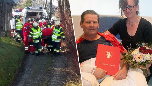 Kärntner gaben sich auf Intensivstation das Jawort (Bild: Feuerwehr Arnoldstein, KABEG)