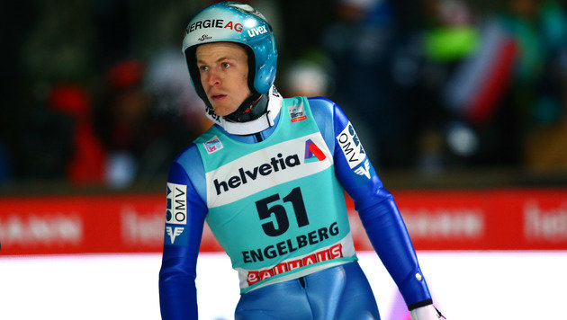 Michael Hayböck gewinnt die Engelberg-Quali! (Bild: GEPA)