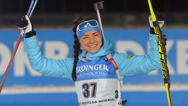 Tatjana Akimowa (Bild: AFP)