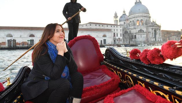 Zabine in Venedig (Bild: Kerstin Joensson)