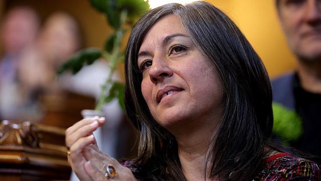 Maria Vassilakou regiert derzeit für die Grünen in Wien mit. (Bild: APA/Georg Hochmuth)