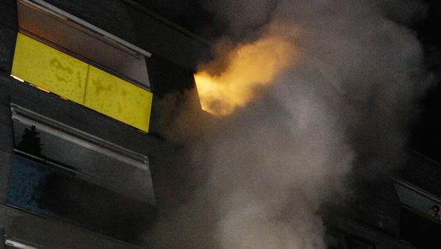Brand in Kinderzimmer: Zwei Mädchen tot (Bild: APA/ZEITUNGSFOTO.AT)