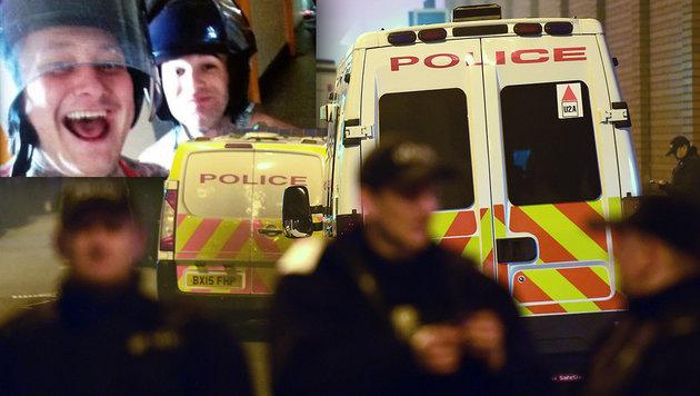 GB: Spezialeinheit beendete Revolte in Gefängnis (Bild: twitter.com, AP/Joe Giddens)