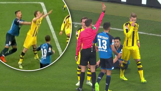 """Unfassbar"" - Dortmund übt harte Kritik am Referee (Bild: SKY DE)"