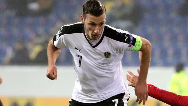 """Wydra stellt klar: """"Ich spiele für Österreich!"""" (Bild: GEPA)"""