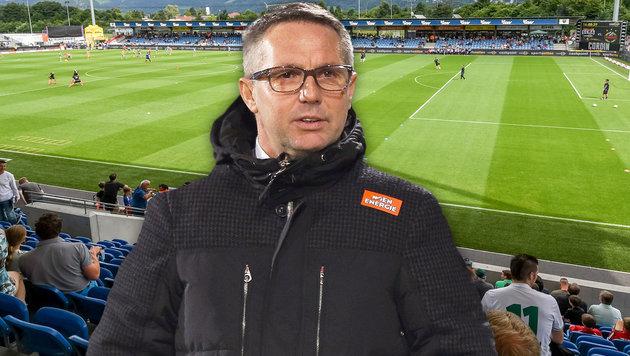 """Rapid-Coach Canadi: """"Ich kehre nach Hause zurück!"""" (Bild: GEPA)"""