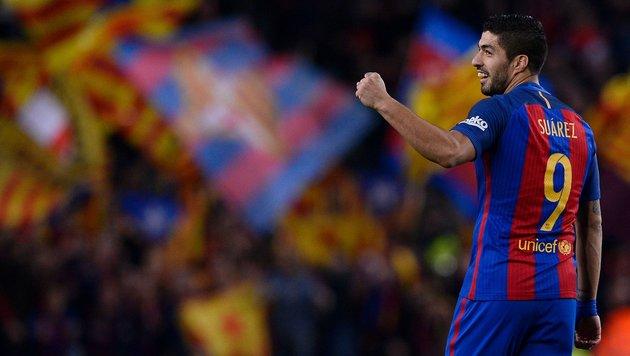 FC Barcelona beendet im Derby Espanyols Serie (Bild: AFP or licensors)