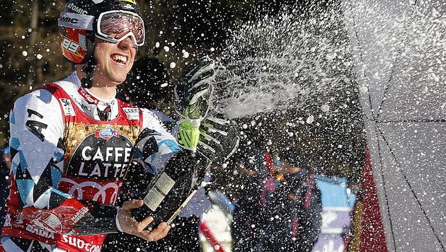 Hirscher pfeilschnell: Rekordsieg in Alta Badia! (Bild: AP)