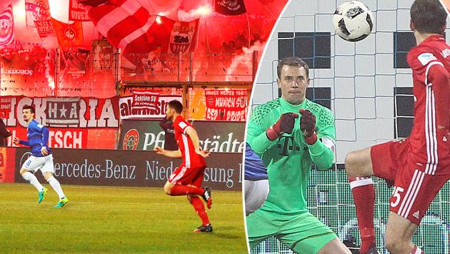 Neuer platzt Kragen! Wirbel nach Bayern-Sieg (Bild: APA/AFP/AMELIE QUERFURTH)
