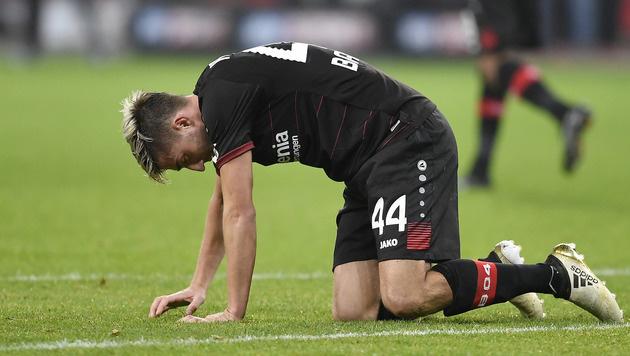 Pleite gegen Ingolstadt! Leverkusen in der Krise (Bild: AP)