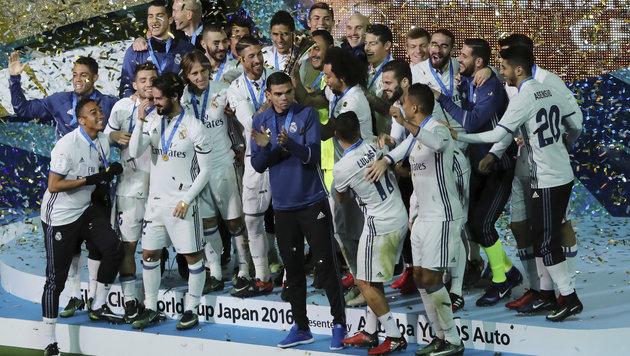 Real Madrid gewinnt Klub-WM dank Ronaldo-Hattrick! (Bild: AP)