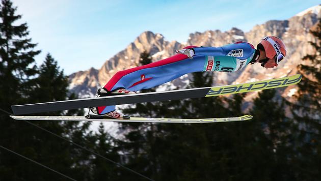 Stefan Kraft segelt bei Prevc-Sieg aufs Podest (Bild: GEPA)