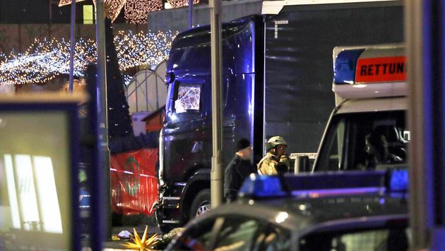 Das ist der Todes-Lkw von Berlin (Bild: Associated Press)