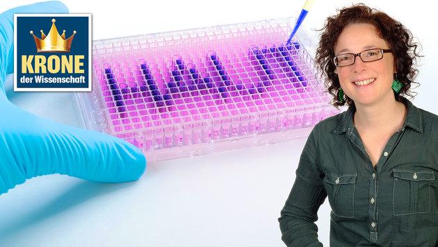 Forscherin will mit speziellen Immunzellen helfen (Bild: Simon P. Haigermoser, MSc)