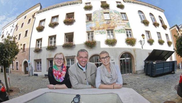 Hinter den historischen Rathaus-Mauern brodelt es schon länger. (Bild: Markus Tschepp)