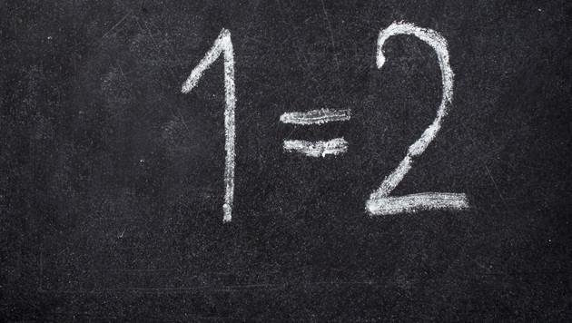 Auf Platz eins landet die Zahl 2. (Bild: Thinkstockphotos.de)