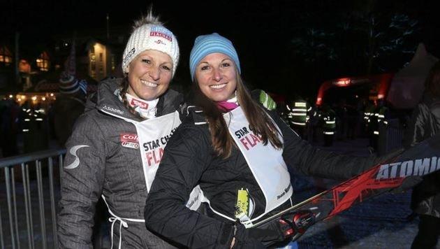 Claudia (li.) und Manuela Riegler (Bild: Andreas Tröster)