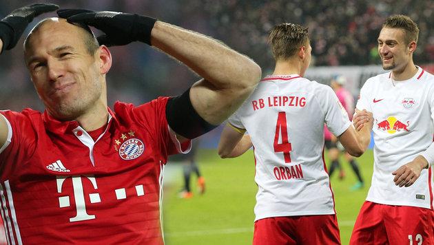 """Bayern schwächelt: """"Reicht gegen Leipzig nicht!"""" (Bild: GEPA)"""