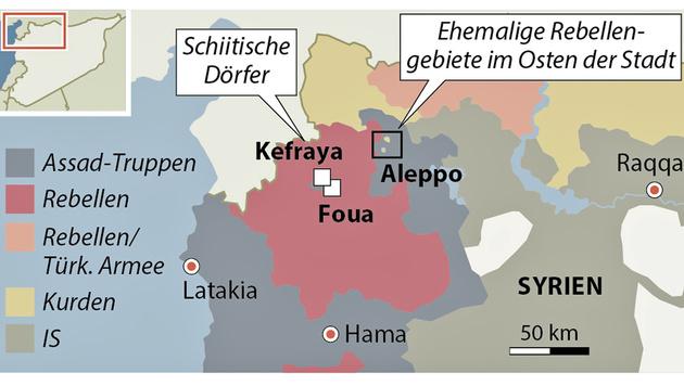 Aleppo nun vollständig unter Assads Kontrolle (Bild: APA)