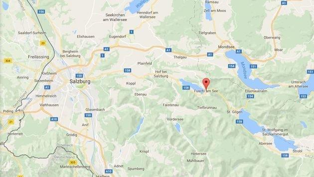 Fuschl am See in Salzburg (Bild: Googlemaps.com)
