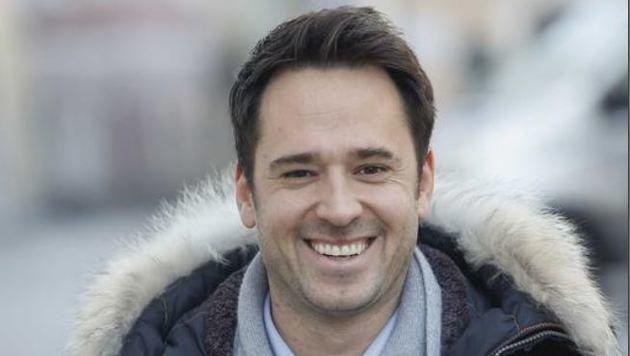 Marco Sampl, der neue ÖVP-Jung-Stadtrat, steht nun an der Seite des erfolgreichen Bürgermeisters. (Bild: Markus Tschepp)