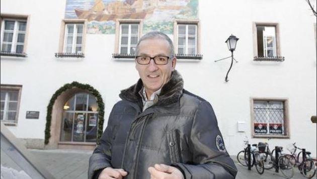 Gerhard Anzengruber (58) ist direkt gewählter Stadtchef. Von Beruf ist er Suchtgift-Kriminalist. (Bild: Markus Tschepp)