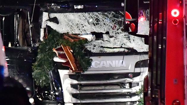 Das ist der Todes-Lkw von Berlin (Bild: AFP)