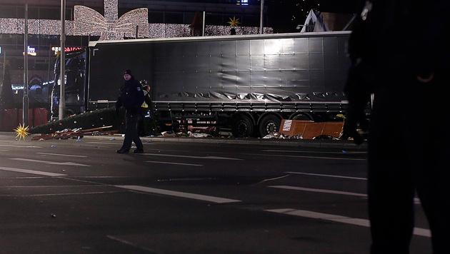 Das ist der Todes-Lkw von Berlin (Bild: AP)
