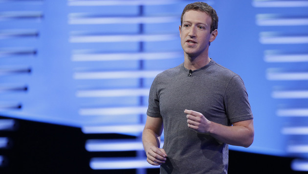 Facebook-Chef Mark Zuckerberg (Bild: AP)