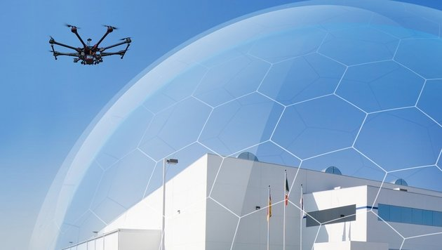 Britisches Gefängnis installiert Drohnenabwehr (Bild: ÖWD)
