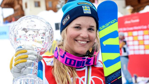 Cross-Star Anna Holmlund aus Koma erwacht (Bild: GEPA)
