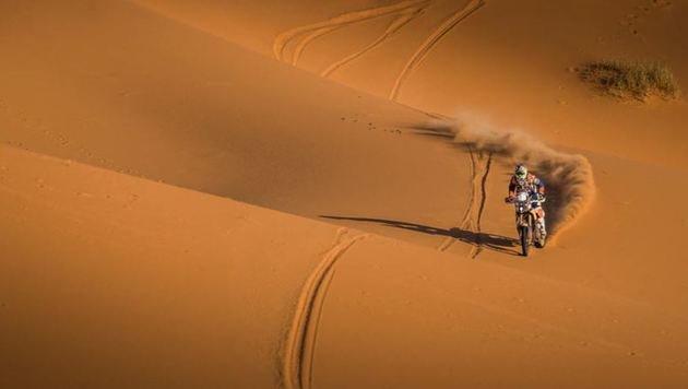 Die 9.000 Kilometer lange Dakar wird für Rallye-Ass Walkner die härteste Karriere-Prüfung! (Bild: KTM Factory Racing/Kim M.)