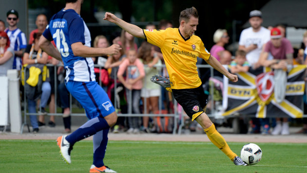 Dynamo-Dresden-Kicker in Kiosk angeschossen (Bild: Dynamo Dresden)