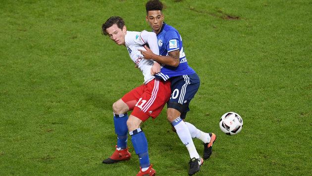 Gregoritsch gewinnt mit dem HSV gegen Schalke! (Bild: GEPA)