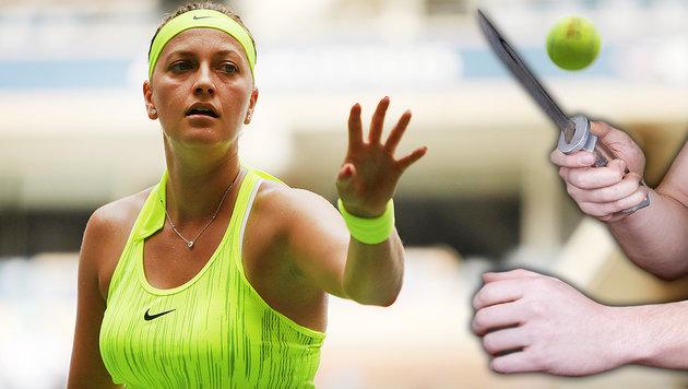 Messer-Attacke auf Tennis-Star Petra Kvitova (Bild: GEPA, thinkstockphotos.de)