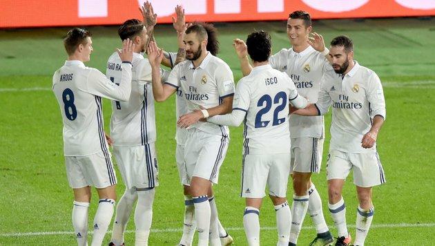 Real Madrid darf im Sommer wieder einkaufen (Bild: APA/AFP/TORU YAMANAKA)