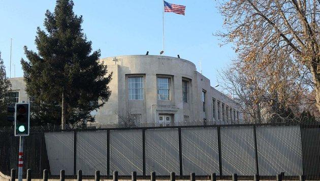 Die US-Botschaft in Ankara (Bild: APA/AFP/Adem Altan)