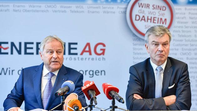 Leo Windtner (l.) und Werner Steinecker (Bild: Markus Wenzel)