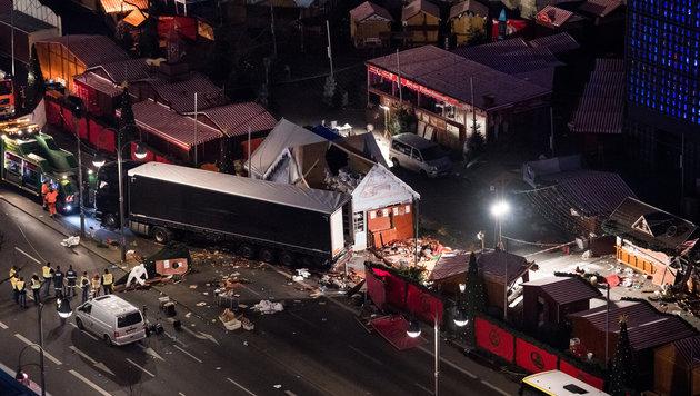 Auch in Wien: Barrieren sollen vor Terror schützen (Bild: APA/dpa/Bernd von Jutrczenka)