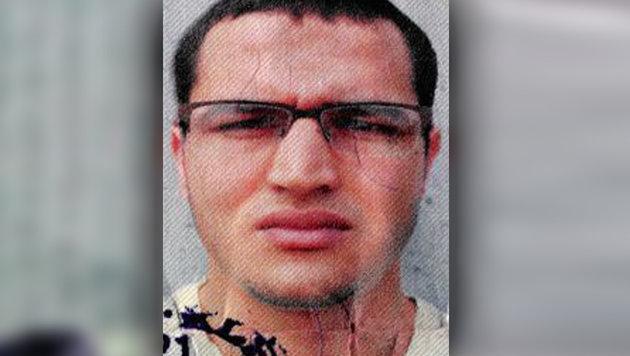 Dieses Bild benutzte Anis Amri für den im Lkw gefundenen Ausweis. (Bild: Deutsche Bundespolizei)
