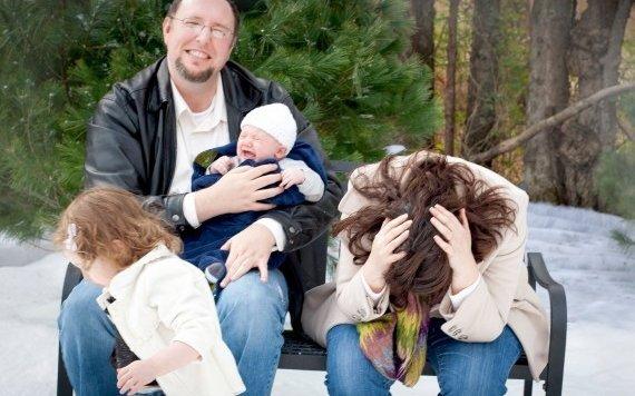 Die peinlichsten Weihnachts-Familienfotos im Netz (Bild: awkwardfamilyphotos.com)