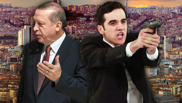Attentäter von Ankara war auch Erdogan-Bodyguard (Bild: AP/Burhan Ozbilici, AFP/OZAN KOSE, thinkstockphotos.de)