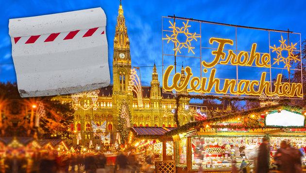 Auch in Wien: Barrieren sollen vor Terror schützen (Bild: AP, thinkstockphotos.de)